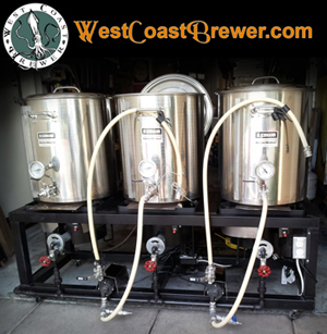 Homebrew Brewing Stands, Beer Racks, Brew Sculptures and Beer Brewing Rigs