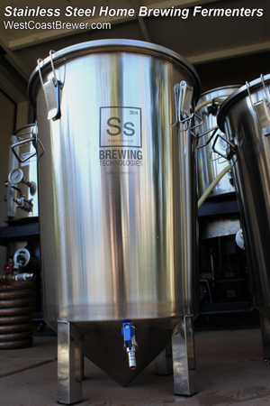 Stainless Steel Home Brewing Fermentors